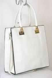 Дамска чанта бял цвят 9153823