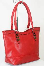 Дамска чанта червен цвят  9153824