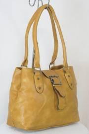 Дамска чанта кафяв цвят  9153827