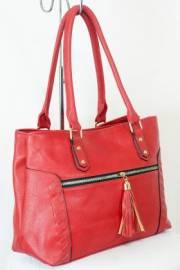 Дамска чанта червен цвят  9153829