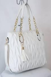 Дамска чанта в бял цвят 9153835