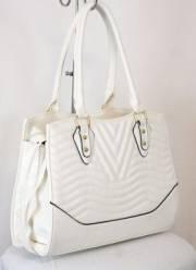 Дамска чанта в бял цвят 9153836