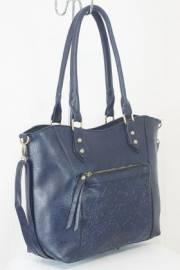 Дамска чанта тъмно син цвят  9153842