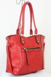 Дамска чанта червен цвят  9153843