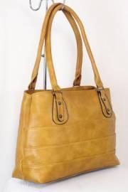 Дамска чанта цвят горчица  9153850