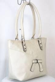 Дамска чанта в екрю 9153852