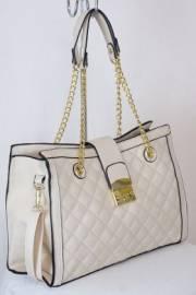 Дамска чанта в екрю 9153856