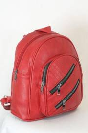 Дамска раница в червен цвят 9153859