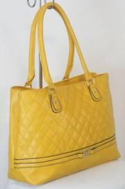 Дамска чанта цвят  горчица 9153867