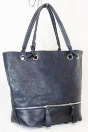 Дамска чанта тъмно син цвят  9153871