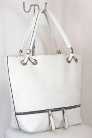 Дамска чанта в бял цвят 9153872