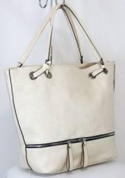 Дамска чанта в екрю 9153873
