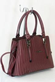 Дамска чанта в бордо 9153875