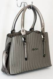 Дамска чанта в сребрист цвят 9153878