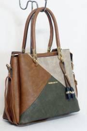 Дамска многоцветна чанта 9153882