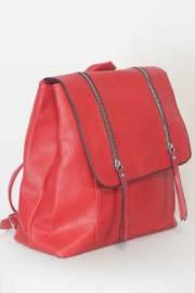 Дамска раница в червен цвят 9153890