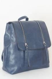 Дамска раница в тъмно син цвят 9153891