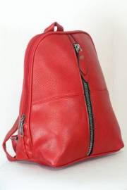 Дамска раница в червен цвят 9153893