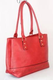 Дамска чанта в червен цвят 9153894