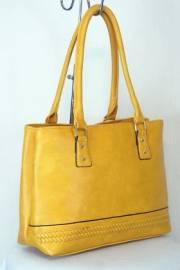 Дамска чанта в цвят горчица 9153896