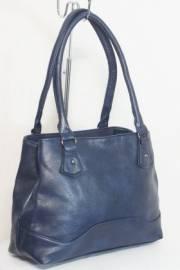 Дамска чанта в тъмно син цвят 9153906