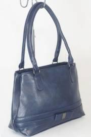 Дамска чанта в тъмно син цвят 9153913