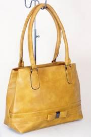 Дамска чанта в цвят горчица 9153914