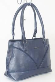 Дамска чанта в тъмно син цвят 9153915