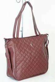 Дамска чанта в цвят бордо 9153934