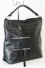 Дамска чанта в черен цвят 9153952