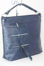 Дамска чанта в тъмно син цвят 9153953