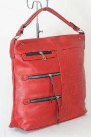 Дамска чанта в червен цвят 9153954