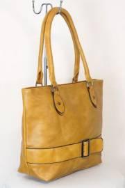 Дамска чанта в кафяв цвят 9153968