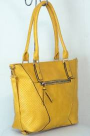 Дамска чанта цвят горчица 9153973