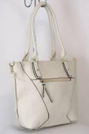 Дамска чанта в екрю 9153974