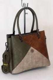 Дамска многоцветна чанта 9153984