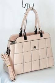 Дамска чанта в цвят пудра 9153986