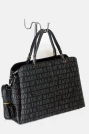 Дамска чанта в черен цвят 9153987