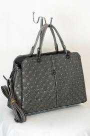 Дамска чанта в сив цвят 9153993