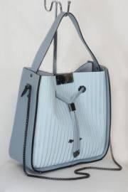 Дамска чанта  светло синя 9154006