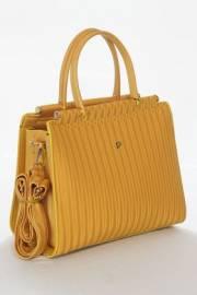 Дамска чанта в горчица 9154020