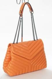 Дамска чанта в оранжев цвят 9154045