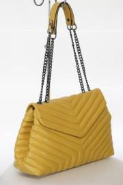 Дамска чанта в цвят горчица 9154046