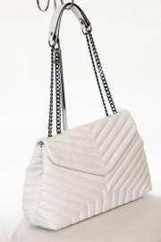 Дамска чанта в бял цвят 9154047