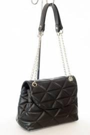 Дамска чанта в черен цвят 9154050