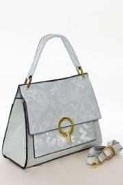 Дамска чанта в светло син цвят 9154054