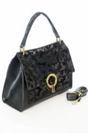 Дамска чанта в черен цвят 9154064
