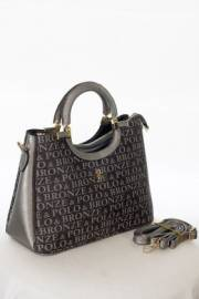 Дамска чанта в черно и графит 9154066