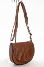Дамска чанта в кафяв цвят 9154083