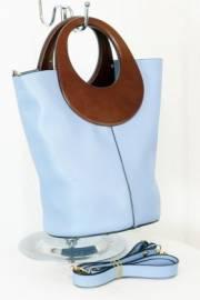 Дамска чанта в светло син цвят 9154145